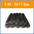 5 IN LeafBlox-30 FT Box